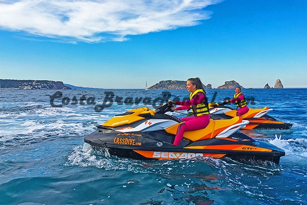 Costa Brava Rental Jet Ski LassDive Empuriabrava Watersport Costa Brava