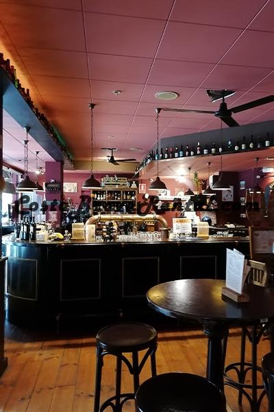 Restaurant Old Ambient in Estartit, Costa Brava, Spain, Bar
