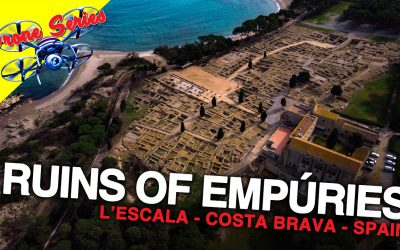Old roman ruins in Escala (Ruins of Empúries)