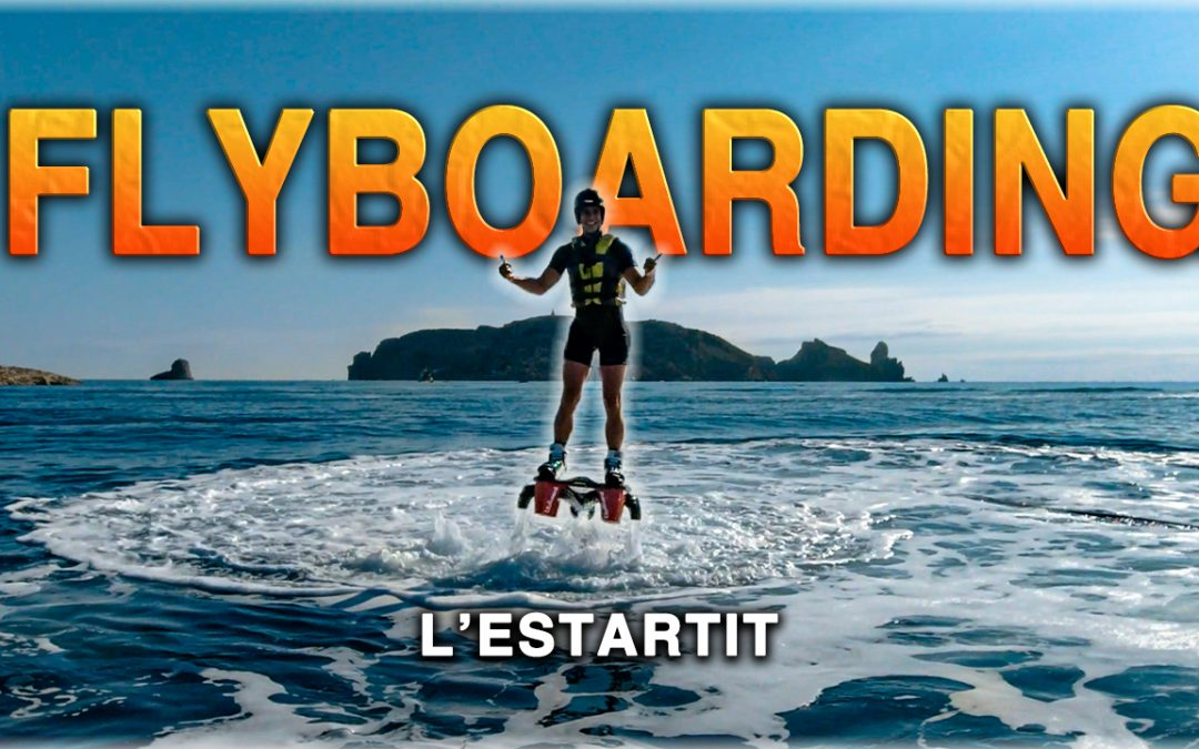 Flyboarding in Estartit