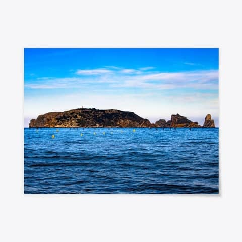 Poster Medes Islands Costa Brava