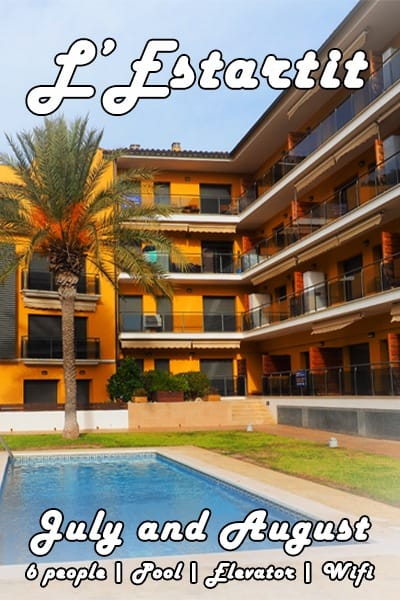 Apartment L'Estartit Costa Brava Vacation